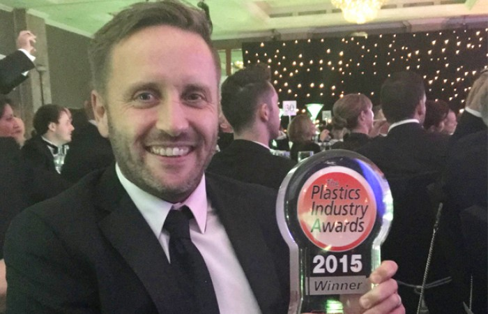 Distrupol wins Plastics Industry Awards 2015